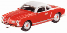 SCHUCO 1:87 - VW KARMANN GHIA - RED