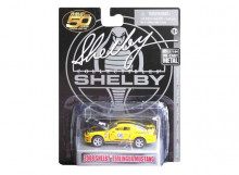 SHELBY COLLECTIBLES 1:64 - SHELBY MUSTANG 2008 TERLINGUA #08 YELLOW/BLACK