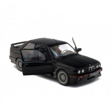SOLIDO 1:18 - BMW M3 E30 SPORT EVO 1990 BLACK