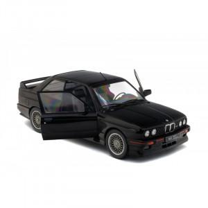 SOLIDO 1:18 - BMW M3 E30 SPORT EVO 1990 BLACK