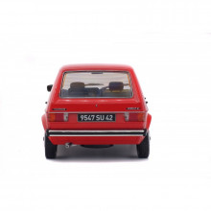 SOLIDO 1:18 - VW GOLF L 1983, RED MARS