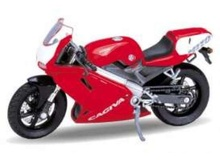 WELLY 1:18 - CAGIVA MITO, RED/WHITE