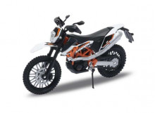 WELLY 1:18 - KTM 690 ENDURO, WHITE/BLACK