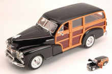 WELLY 1:24 - CHEVROLET FLEETMASTER 1948 BLACK