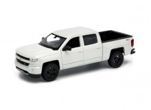WELLY 1:24 - Chevrolet SILVERADO 2017, WHITE