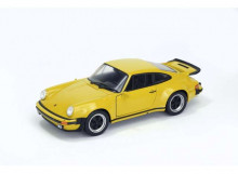 WELLY 1:24 - PORSCHE 911 TURBO 3.0 1974, YELLOW
