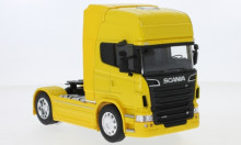 WELLY 1:32 - SCANIA R730 V8 (4X2), YELLOW