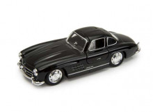WELLY 1:34 - MERCEDES BENZ 300 SL, BLACK