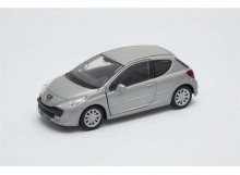 WELLY 1:34 - PEUGEOT 207, SILVER