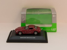 WELLY #1:87 - MERCEDES-BENZ SLS AMG ROT (73144)