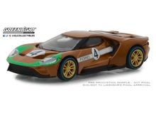 GREENLIGHT 1:64 - FORD GT 1966 #4 FORD GT40 MK II TRIBUTE 2017 'FORD RACING HERITAGE SERIES 2'