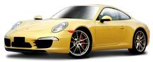 BBURAGO 1:24 - PORSCHE 911 (991) CARRERA S, YELLOW
