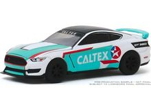GREENLIGHT 1:64 - FORD SHELBY GT 350R 2019 *CALTEX RACING*, WHITE