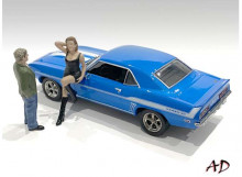 AMERICAN DIORAMA 1:43 - 70S STYLE FIGURE SET #1.