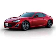 AOSHIMA 1:24 - TOYOTA 86 2012 PRE-PAINTED PLASTIC MODELKIT, LIGHTNING RED