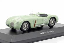 ATLAS 1:43 - JAGUAR C-TYPE #50 STIRLING MOSS GP REIMS 1952