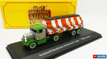 ATLAS 1:76 - SCAMMELL HANDYMAN + SHEETED LOAD BILLY SMART'S CIRCUS