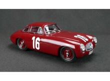 CMC 1:18 - MERCEDES BENZ 300 SL (W194) 1952, GRAND PRIX OF BERN #16, RED