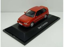 DEALER MODEL 1:43 - SEAT CORDOBA *IN SEAT DEALER PACKAGING*, RED
