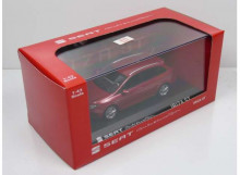 DEALER MODEL 1:43 - SEAT IBIZA ST *IN SEAT DEALER PACKAGING*, RED