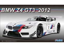 FUJIMI 1:24 - BMW Z4 GT3 2012 WITH ETCHING PARTS, PLASTIC MODELKIT