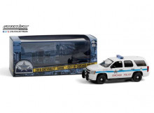 GREENLIGHT 1:43 - CHEVROLET TAHOE 2010 *CITY OF CHICAGO POLICE*, WHITE