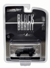 "GREENLIGHT 1:64 - 1994 JEEP WRANGLER ""BLACK BANDIT SERIES 14"", BLACK"