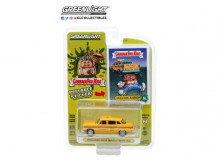 GREENLIGHT 1:64 - CHECKER MOTORS MARATHON 1970 A11 GPK TAXI CO. *UNAWARE AARON*, YELLOW