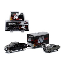 GREENLIGHT 1:64 - ELEANOR' GONE IN 60 SECONDS FORD F150 PICK-UP TRUCK & TRAILER SET