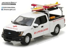 GREENLIGHT 1:64 - FORD F-150 WITH LIFEGUARD ACCESSORIES 'HOBBY EXCLUSIVE' 2016