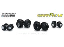 GREENLIGHT 1:64 - KINGS OF CRUNCH GOODYEAR AUTO BODY SHOP *WHEEL & TIRE PACKS SERIES 2*