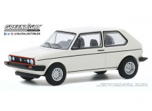 GREENLIGHT 1:64 - VOLKSWAGEN GOLF GTI 1980 *CLUB VEE-DUB SERIES 11*, ALPINE WHITE
