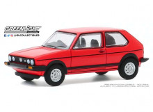 GREENLIGHT 1:64 - VOLKSWAGEN GOLF GTI 1982 *HOT HATCHES SERIES 1*, RED