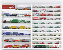 HERPA 1:87 - Car / van showcase (white)