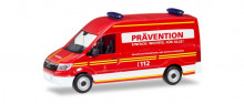 """HERPA 1:87 - MAN TGE box type with high Roof """"Munich Volunteer fire Department"""""""