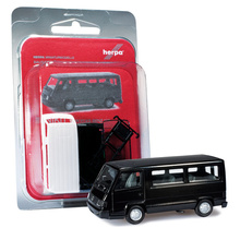 HERPA 1:87 - MiniKit: Mercedes-Benz 100 D bus, deep black