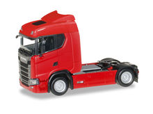 HERPA 1:87 - SCANIA CS 20 LOW ROOF TRACTOR, RED