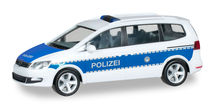 HERPA 1:87 - VOLKSWAGEN SHARAN 'FEDERAL POLICE FORCE'