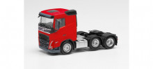 HERPA 1:87 - Volvo FH low roof 2020 6×2 tractor, red