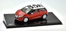 IXO 1:43 - CITROEN DS3 SPORT CHIC 2011 - RED/WH