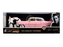 JADA 1:24 - CADILLAC FLEETWOOD 1955 WITH ELVIS PRESLEY FIGURE.