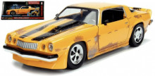 "JADA 1:24 - CHEVROLET CAMARO 1977 ""TRANSFORMERS BUMBLEBEE"", YELLOW/BLACK"