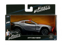 JADA 1:32 - LETTY'S RALLY FIGHTER *FAST 8*, SILVER