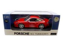 JOY CITY 1:24 - PORSCHE 911 TURBO 997, RED