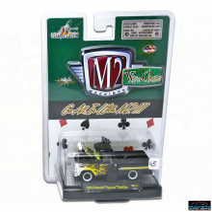 M2 MACHINES 1:64 - WILD CARDS CHEVROLET APACHE FLEETLINE 1959