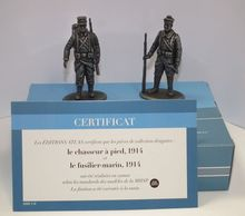 MAGAZINE MODELS 1:24 - FOOT SOLDIER AND FUSILIER 1914