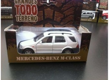MAGAZINE MODELS 1:36 - MERCEDES BENZ M-CLASS, WHITE