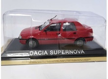 MAGAZINE MODELS 1:43 - DACIA SUPERNOVA *LEGENDARY CARS* RED