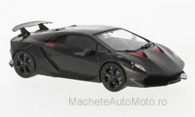 MAGAZINE MODELS 1:43 - LAMBORGHINI SIXTH ELEMENTO, MATT-BLACK/RED