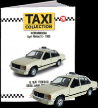 MAGAZINE MODELS 1:43 - OPEL REKORD E - NUREMBERG 1980, TAXI OF THE WORLD - CENTAURIA